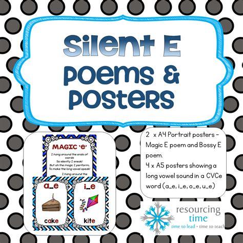 magic e pattern bossy e magic e posters and poems the alphabet tree