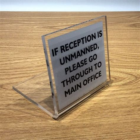 reception desk signs 120 best freestanding desk signs images on