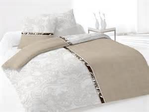 couette lit une place parure lit 1 place loriane gris selartex