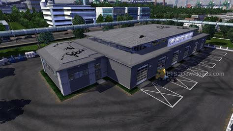 large garages new large garage ets2 world