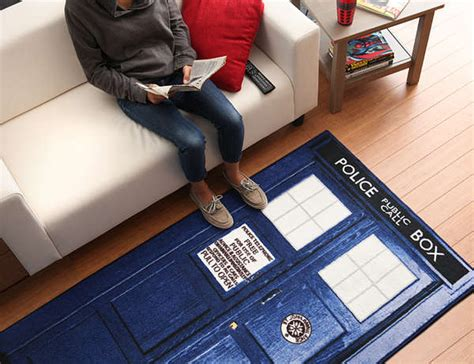 Dr Who Decor by Soft Time Travelling Rugs Doctor Who Decor
