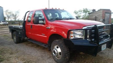 bale bed for sale 2006 ford f 350 extended cab 4x4 w deweze bale bed