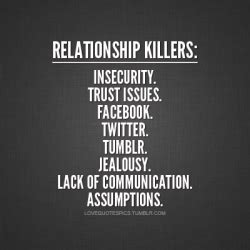 jealousy workbook of creating trust in your relationship books quotes pics relationship killers insecurity trust