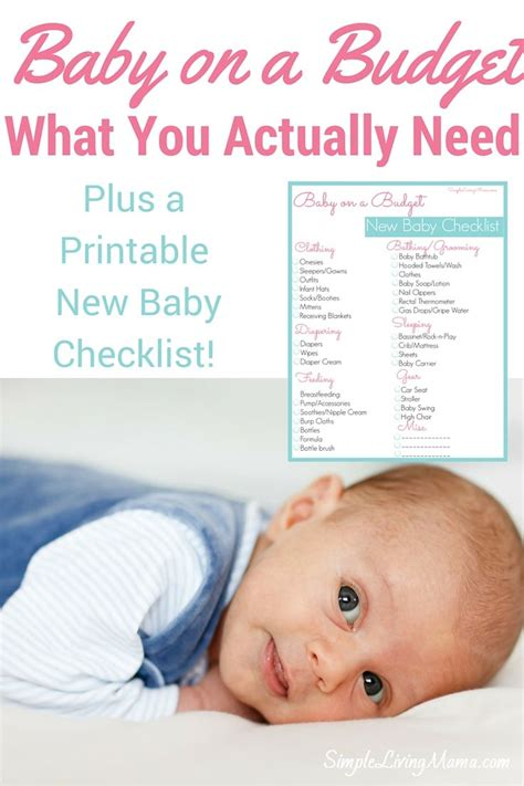 all baby stuff you need baby on a budget the stuff you actually need all about