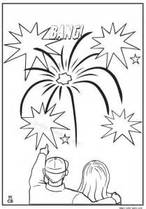 fireworks coloring pages fireworks display archives magic color book