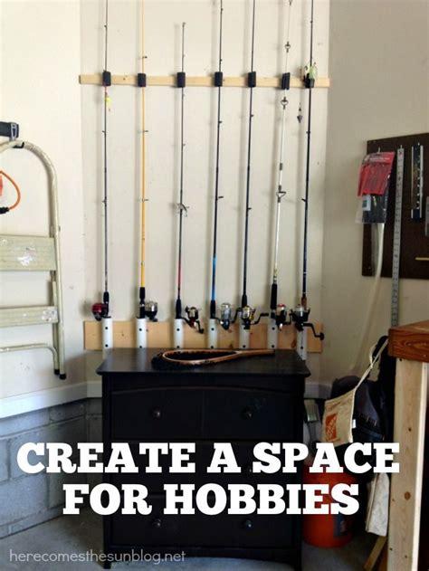 Fishing Pole Garage Storage Ideas Garage Organization 101 Outdoor Tools Rod Holders And
