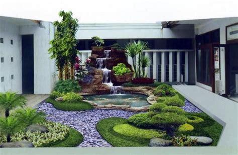 desain taman rumah minimalis  kolam ikan taman