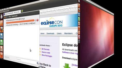 ubuntu manual eclipse install install eclipse juno ide into ubuntu 12 youtube