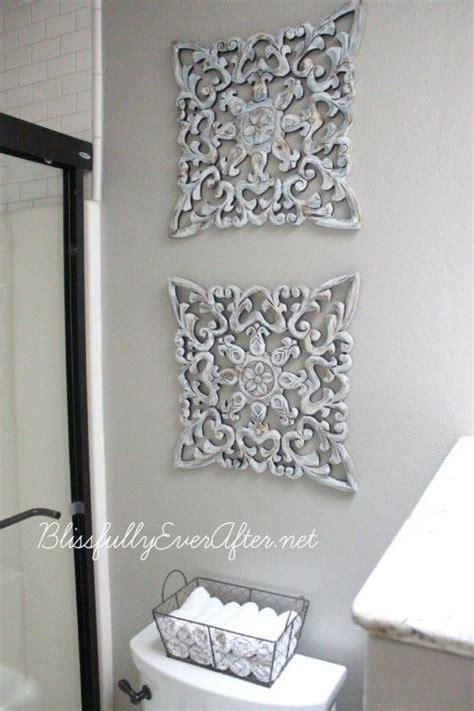 25  best ideas about Grey bathroom decor on Pinterest   Half bathroom decor, Small half