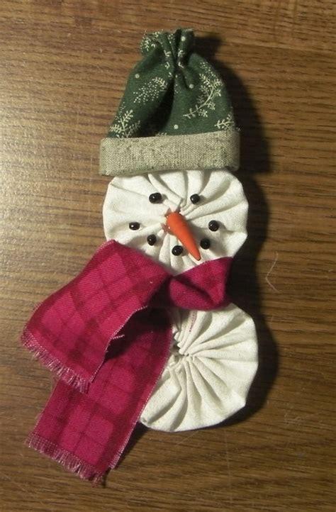 yo yo snowman keepsake crafts