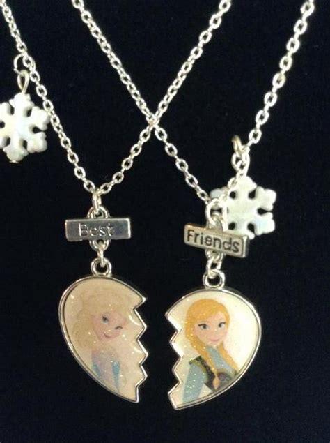disney frozen friendship necklaces