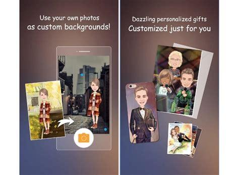 membuat foto menjadi karikatur di android cara mengubah foto menjadi kartun di android