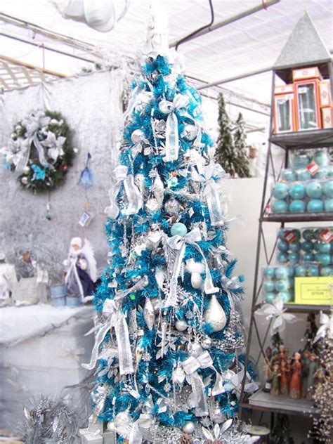 christmas tree theme blue and silver hitez comhitez com
