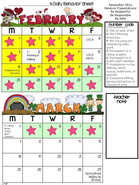 Behavior Calendar Best 25 Behavior Calendar Ideas On