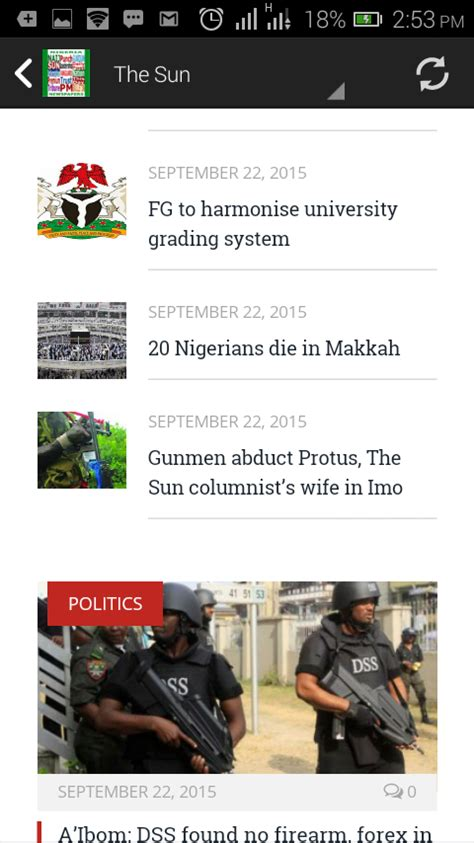 nigerian newspapers read them online nigeria all nigerian newspapers android apps on google play
