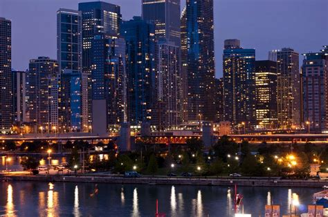 of chicago chicago skyline photographs
