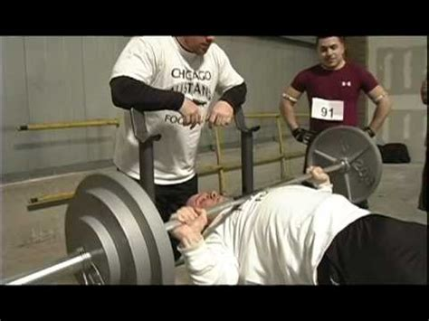 diesel on 225 lb bench youtube