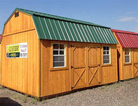 Shed Montana by Brian Giffin Hickory Buildings Sheds Missoula Mt