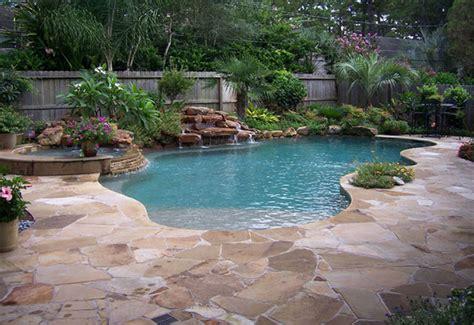 Natural Free Form Swimming Pools Design 133 Custom Outdoors Free Form Swimming Pool Designs