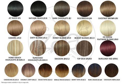 raw hair dye color chart wholesale hair extensions at zala australia s leading