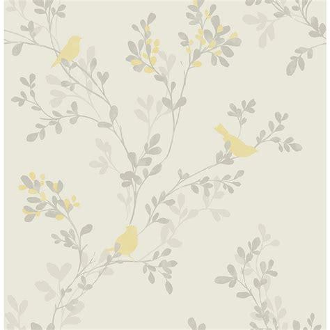 brewster yellow bird wallpaper 2704 41262sw the