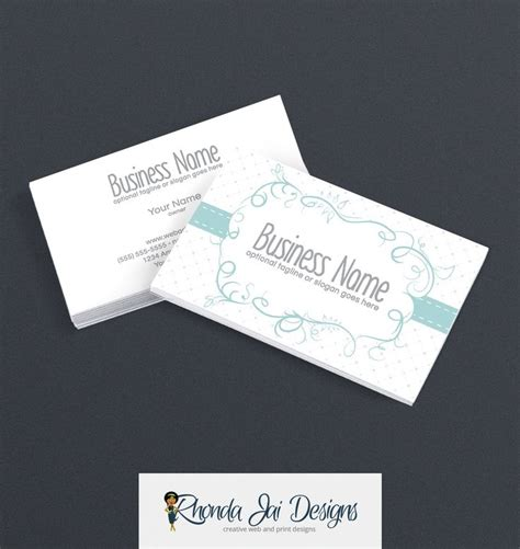 Business Card Template Etsy by 57 Best Etsy Business Cards Images On Business