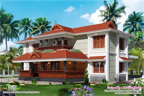 traditional style homes traditional style home design in 2700 sq feet kerala