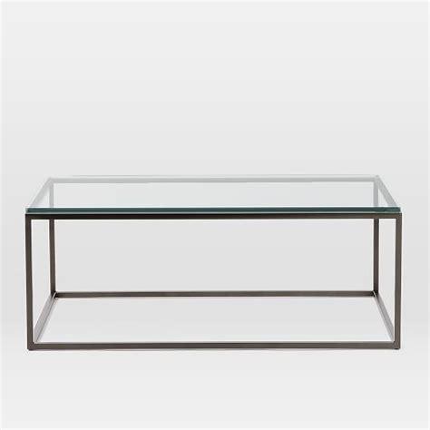 box frame coffee table box frame coffee table glass antique bronze elm