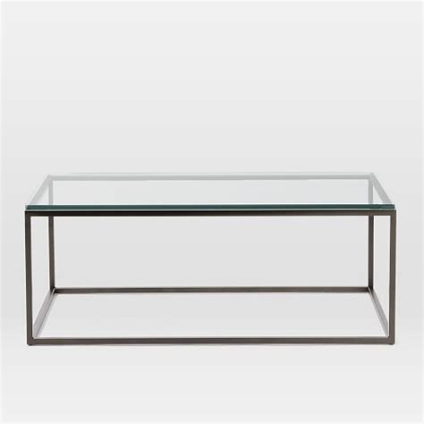 box coffee table box frame coffee table glass antique bronze elm