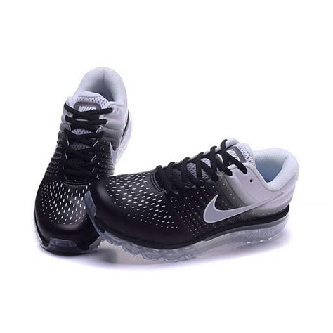 nike airmax 2017 black white running shoes nike airmax