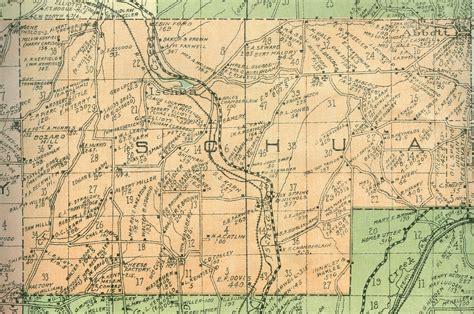 Cattaraugus County Records Cattaraugus County Ny Wall Map 1916