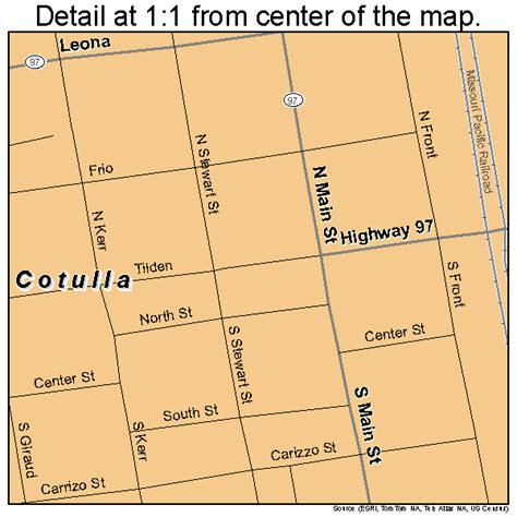 map of cotulla texas cotulla texas map 4817216