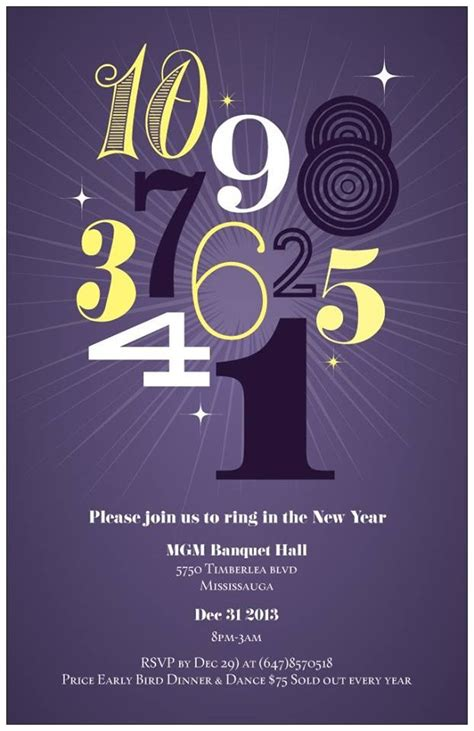 new year dinner flyer toronto new year s 2018 100 events listed