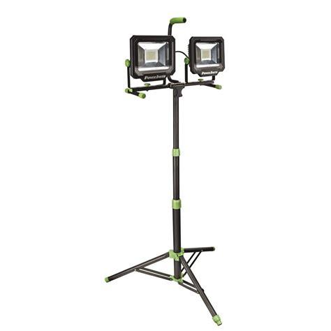 led shop work lights powersmith 100 watt 10 000 lumens led dual work