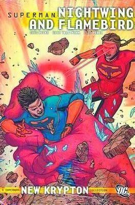 superman tp vol 2 1401268609 superman nightwing and flamebird tp vol 02 pere perez 9781401229405