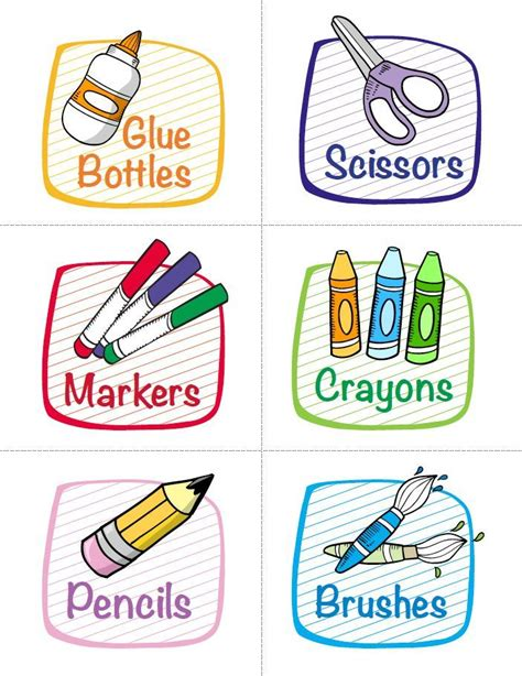 printable labels nz labels for classroom supplies free printables from