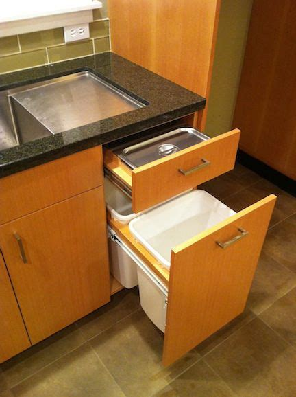 kitchen bench compost bin 29 best images about kitchen storage solutions on