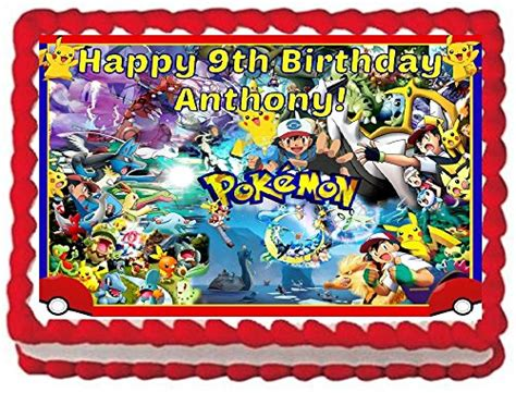 pokemon cake topper amazoncom