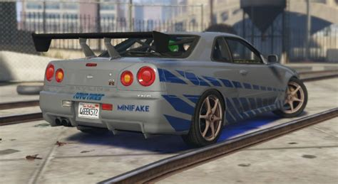 nissan r34 paul walker nissan skyline r34 paul walker fast and furious