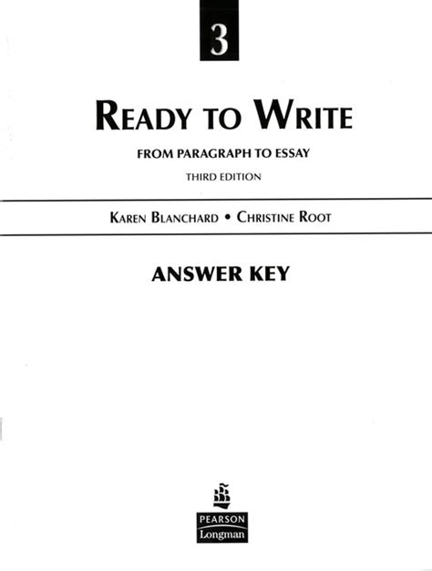 Get Writing Paragraphs And Essays by Ubru At Home Get Writing Paragraphs And Essays Third Edition