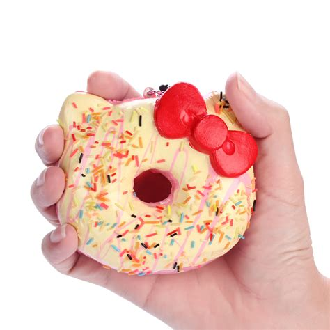Squishy Helo aliexpress buy 15pcs lot 10cm original package hello squishy jumbo donut cell
