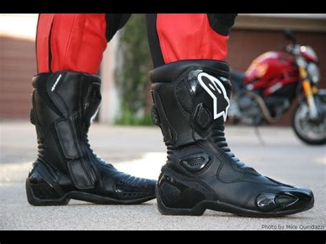 Alpinestars SMX 5 Motorcycle boots review!!   YouTube