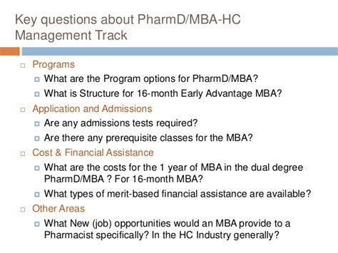 Advantages Of Pharmd Mba by Pharmd Mba For Uci Pre Pharmacy Club Mar 17