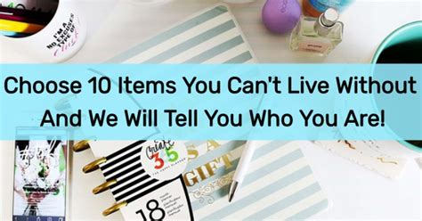 7 Technologies We Cant Live Without by Choose 10 Items You Can T Live Without And We Will Tell