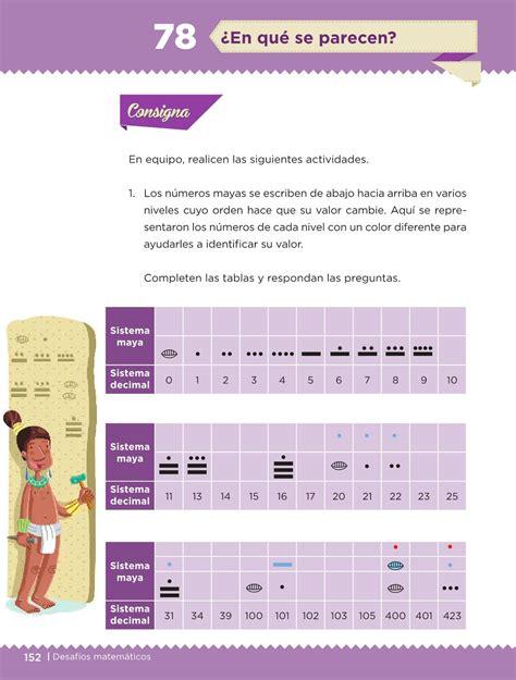 libro sep de matematicas respuestas pagina 156 de 5 de primaria desaf 237 os matem 225 ticos libro para el alumno quinto grado
