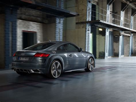 audi tt coupe roadster unveiled celebrating