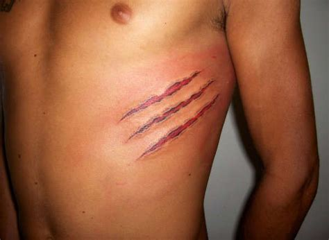 scratch mark tattoo designs best 25 scratch ideas on tiger claw