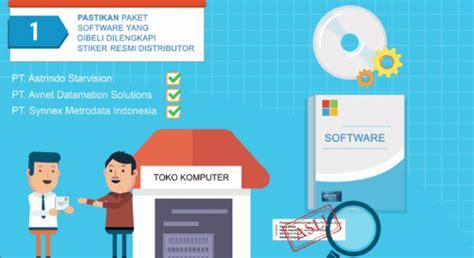 Microsoft Asli Tips Membedakan Software Microsoft Asli Dan Bajakan Segiempat