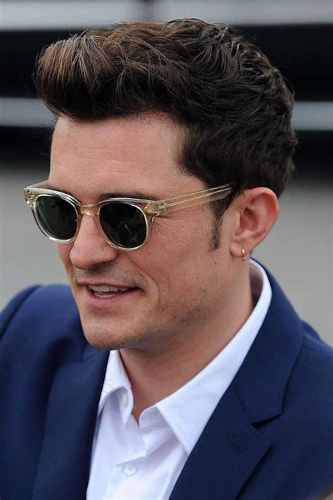 orlando bloom in stylish oliver peoples sunnies day before