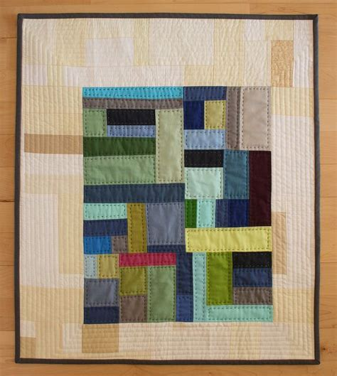 Solid Color Quilts by Solid Color Quilt I Like The Island Of Color Floating On
